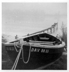 Das Netzboot von Fischer Dahl, hier schon als Sportboot (Foto: Prof. Dr. Hoffmann)